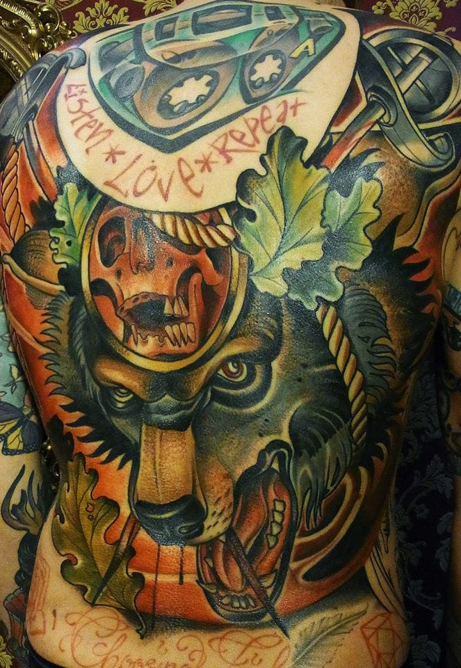 20 Brilliant Neo-Traditional Tattoos By Sebastian Brade