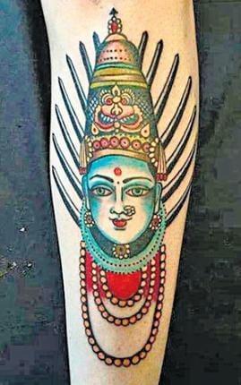 Gordon's Yellamma Tattoo