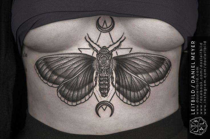 Gorgeous tattoo by Daniel Meyer.