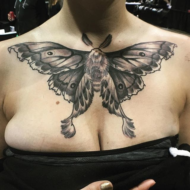 Nice chestpiece by Ron Smith.
