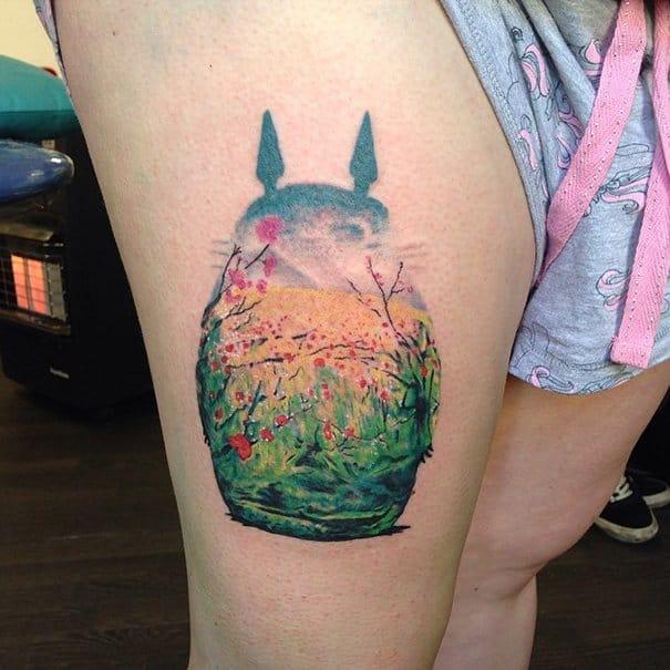 Bugsy Seagull Tattoo