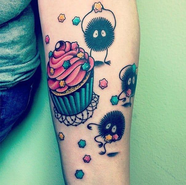 Doce tatuagem feito por fedeperlamadonna