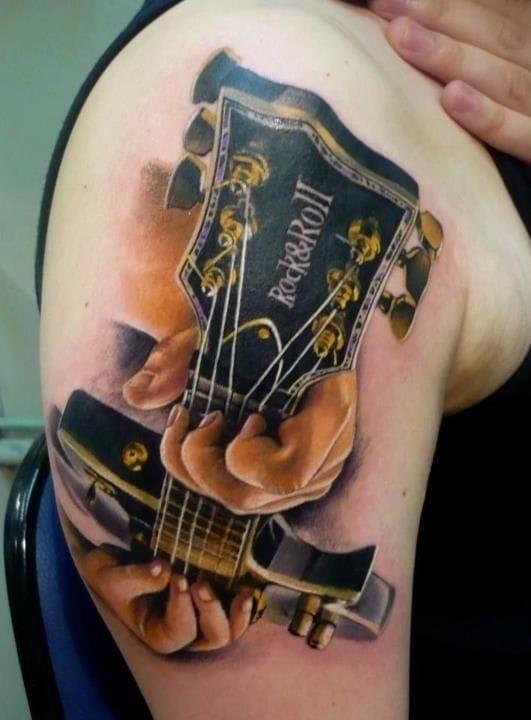 Certainly a guitar player.
