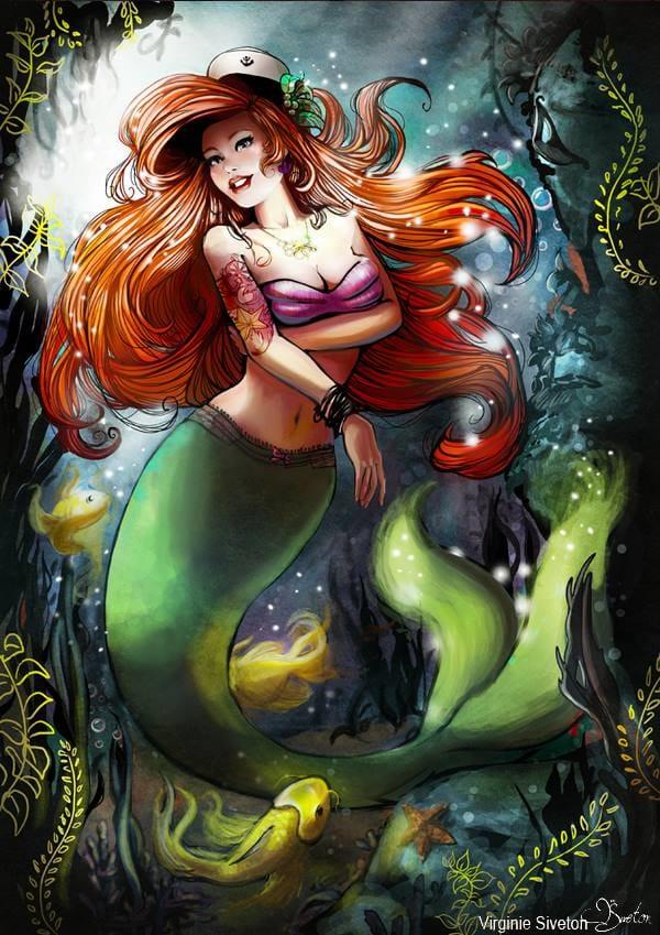 Cuidado com o canto da sereia Ariel!