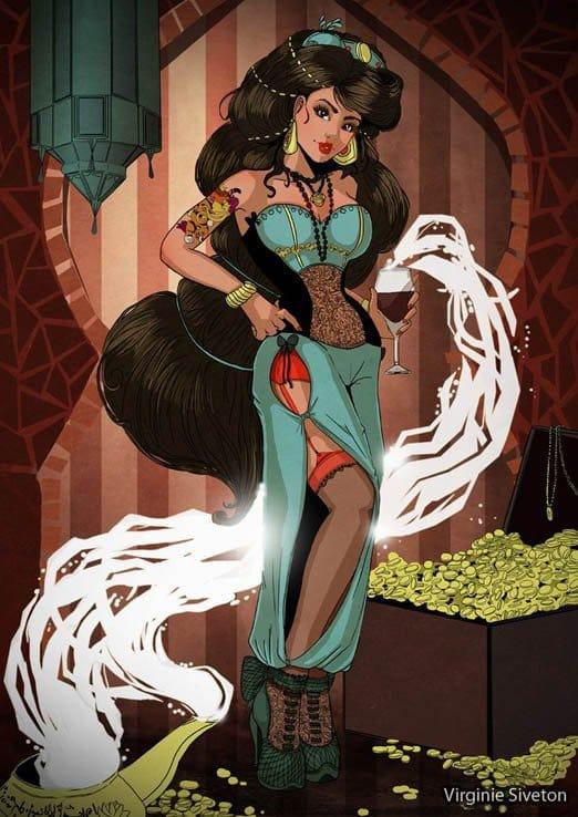 Eita Aladin! Cuidado com o Gênio da Lãmpada! Essa Jasmine tá sensacional!
