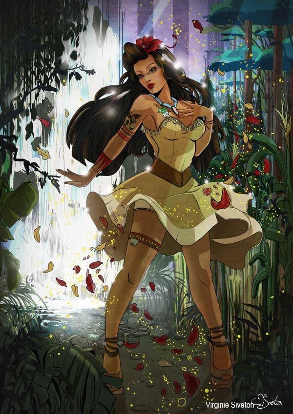 Pocahontas, a rainha das selvas!