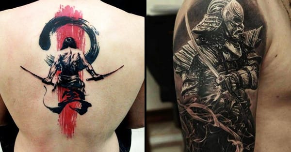 40 epic samurai tattoos tattoodo. Black Bedroom Furniture Sets. Home Design Ideas