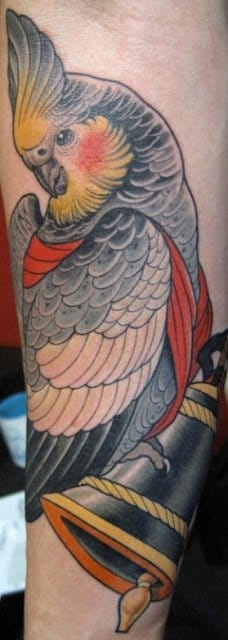 Tattoo by Bjorn Liebner