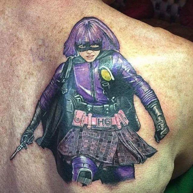 Hit-Girl Tattoos