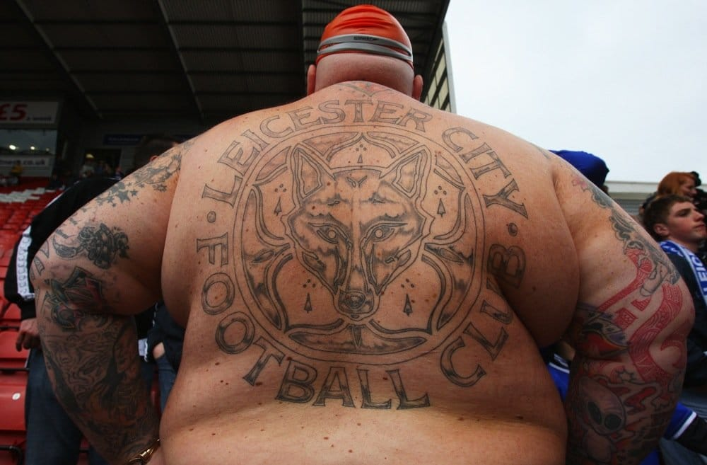 Leicester City Tattoo