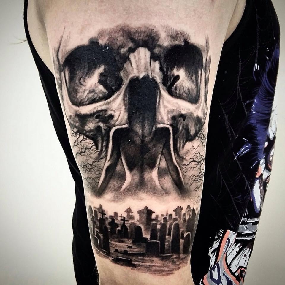 19 Tatuagens Para Quem Tem Fascinação Pela Morte e Cemitérios