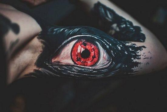 Sharingan eye by Megan Allard!