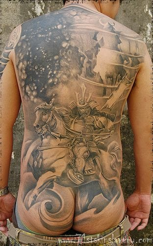 Another intricate backpiece.