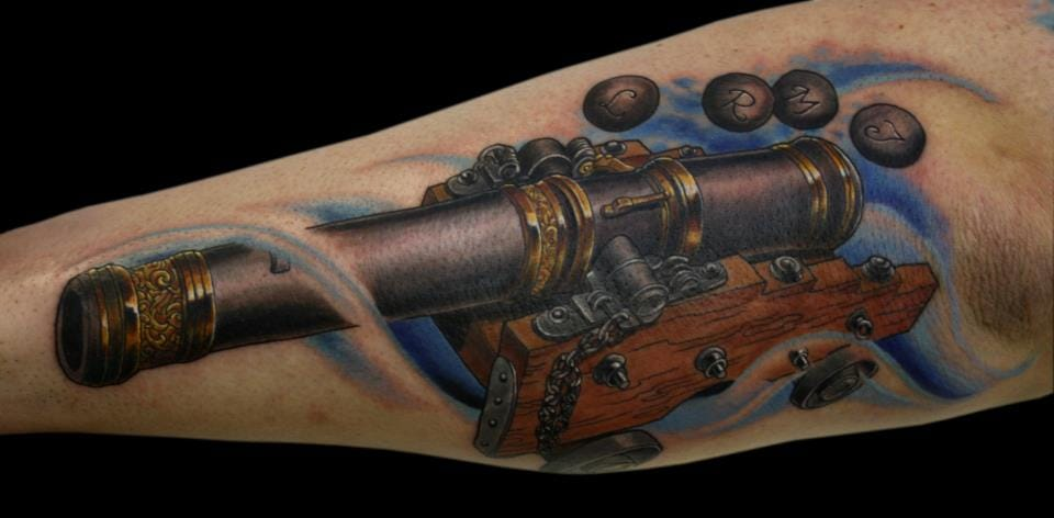 Awesome Ships Cannon by Ram Rosvall