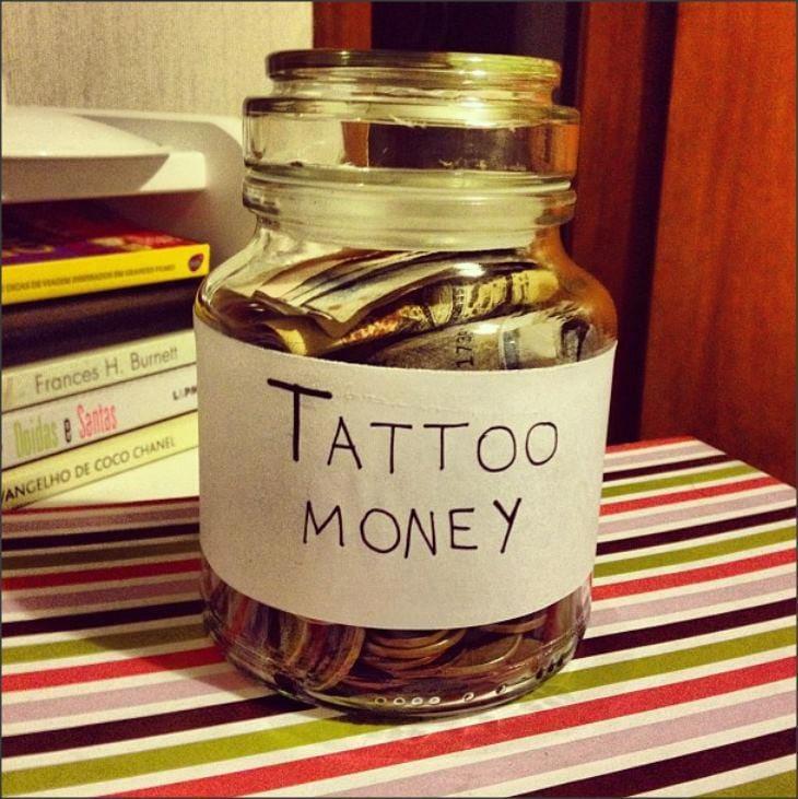 Saving money for tattoo