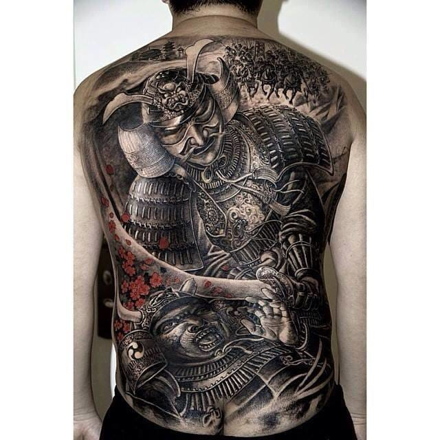 Epic backpiece by Hailin Fu.