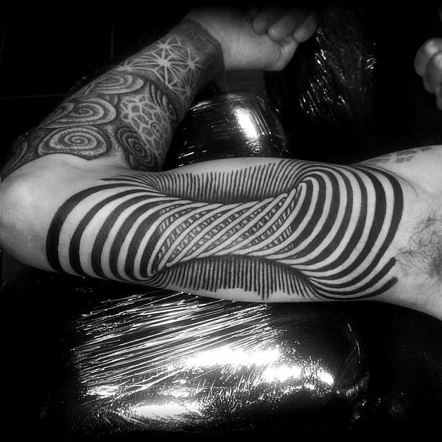 Great tattoo by Mel Dredd.