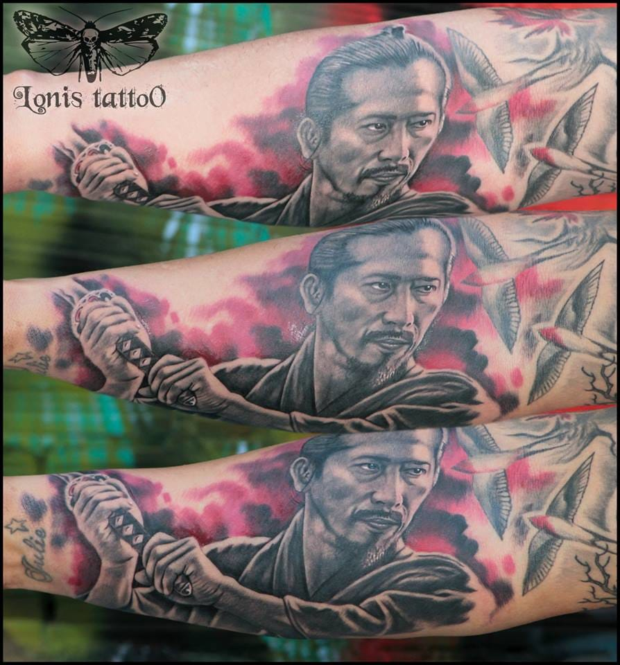 From the movie the Last Samurai by Lonis Tattoo Studio.