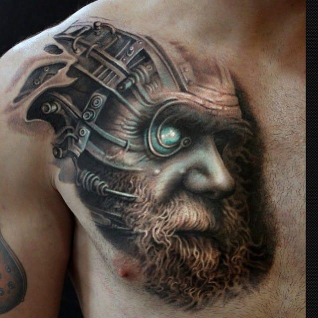 Cool Darwin cyborg by Arlo Dicristina...