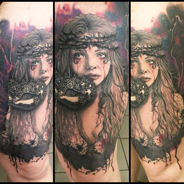 Creative tattoo by Tilly!