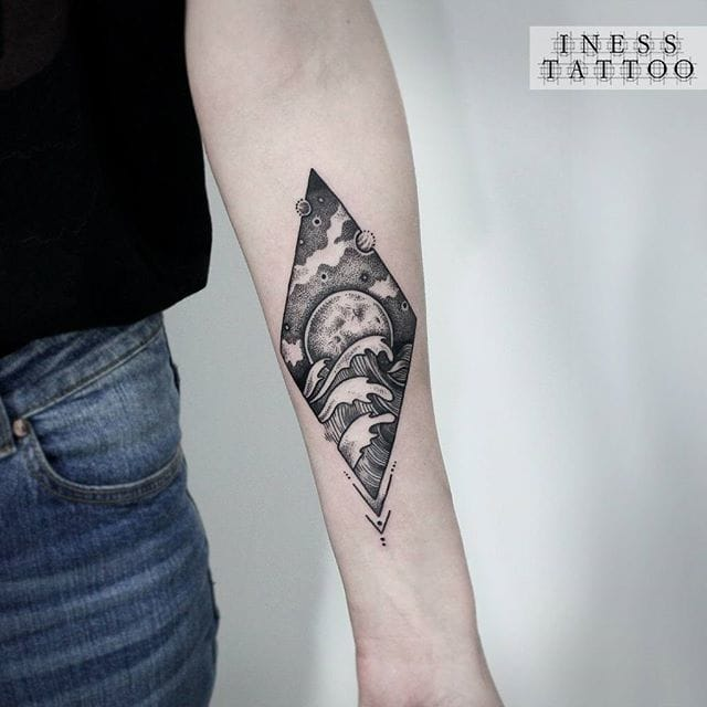 Great tattoo by Iness.