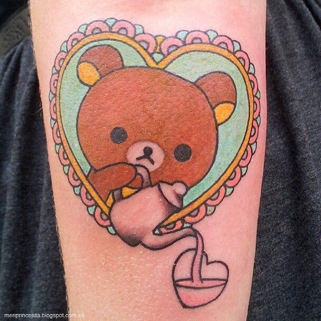 Rilakkuma Tattoos That Are So Kawaii You'll Die!!