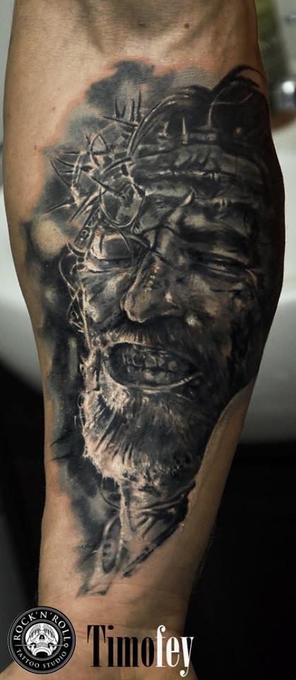 Timofey Nikulshin e Suas Tatuagens Realistas Magníficas