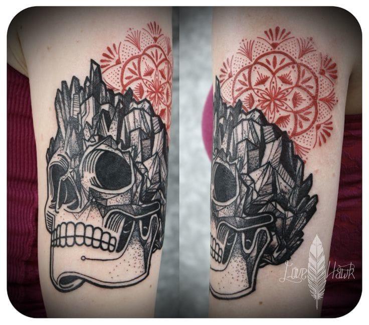 Crystal Skull by David Hale