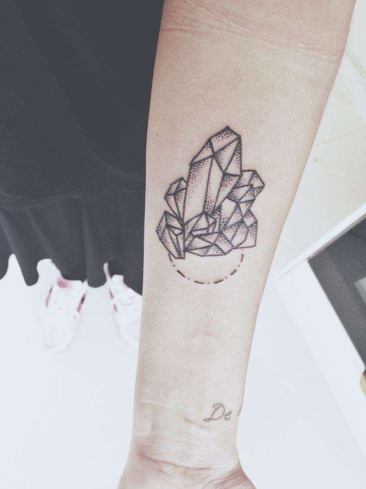 25 Flawless Crystal Tattoos | Tattoodo