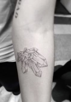 Great Crystal Tattoo by Dr Woo