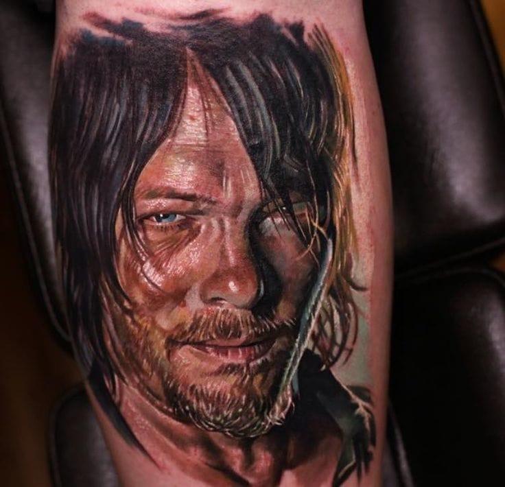 Perca Sua Cabeça Com 18 Tatuagens Inspiradas Na Série The Walking Dead