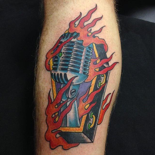 Burning till death... By Derek Farrow.