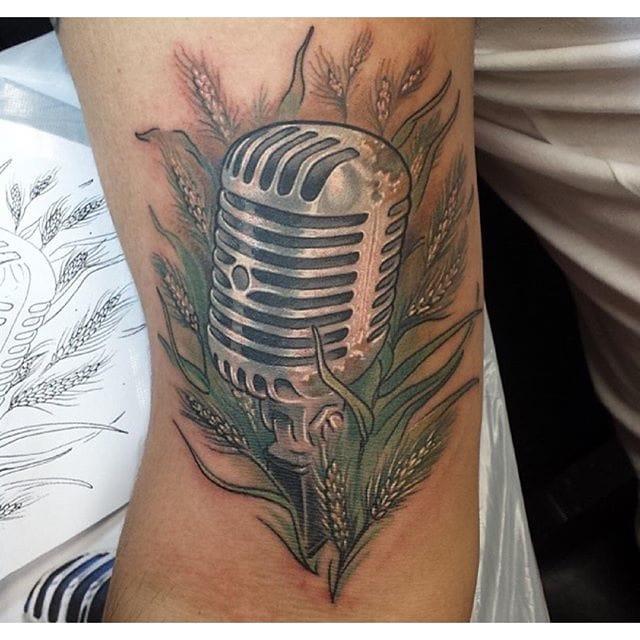 Nice tattoo by Emily Schmitt.