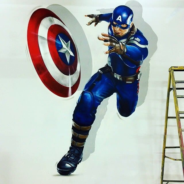 Captain America, via @jaymackmuzik