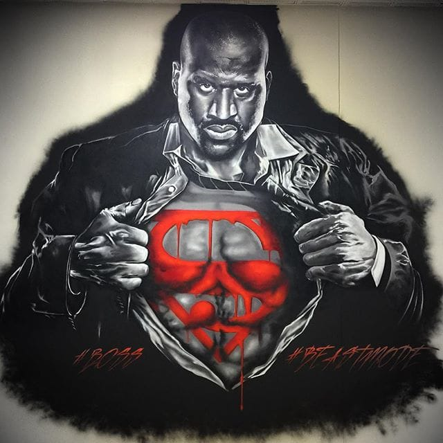 Super Shaq! via @jaymackmuzik