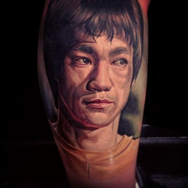 8 Crazy Awesome Bruce Lee Tattoos
