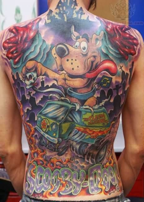 Awesome back piece