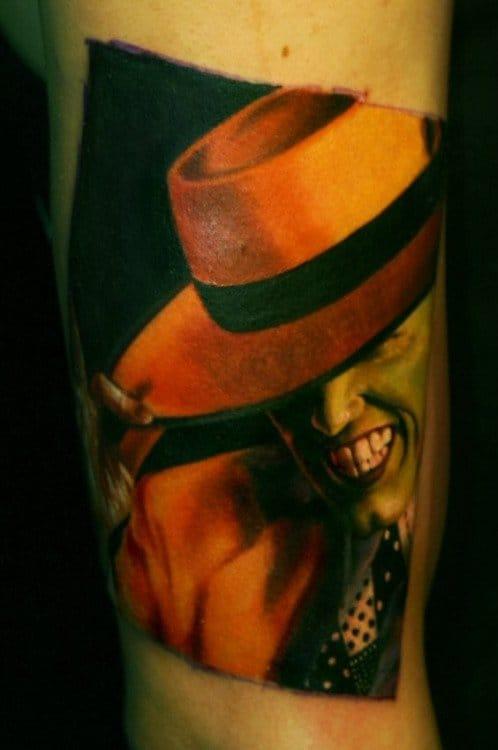 The Mask Tattoo by Ben Klishevsky