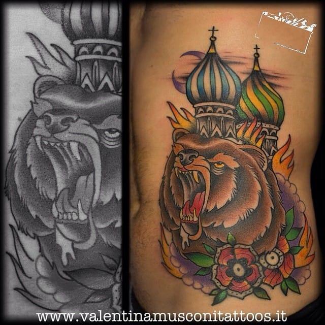 Russian Dome Tattoo