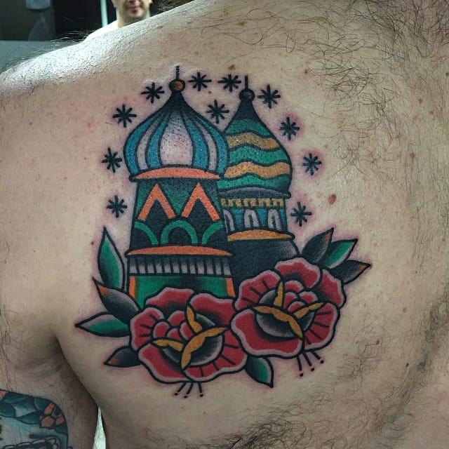 Old School Tattoo by Chuli Gonzalez
