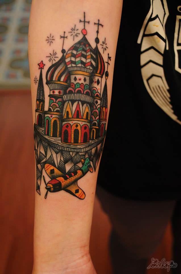 Awesome Tattoo by Karolina Bebop