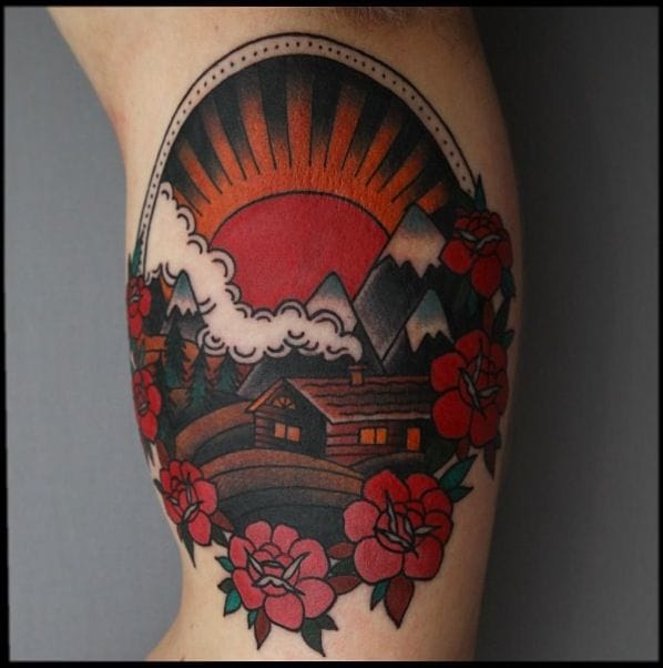 8 Bold And Solid Mountain Tattoos