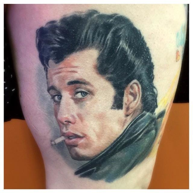Grease Tattoo