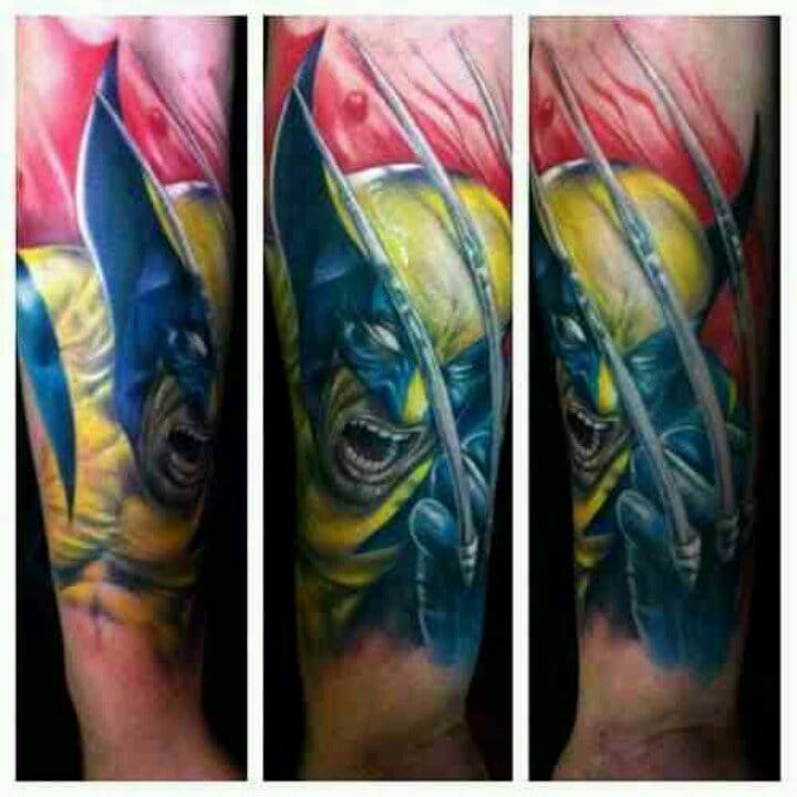 12 Awesome Wolverine Tattoos That Aren't Hugh Jackman ...
