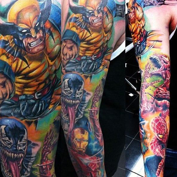 Awesome Marvel sleeve