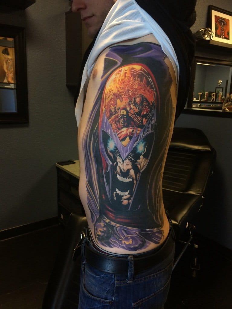 9 Magnificent Magneto Tattoos