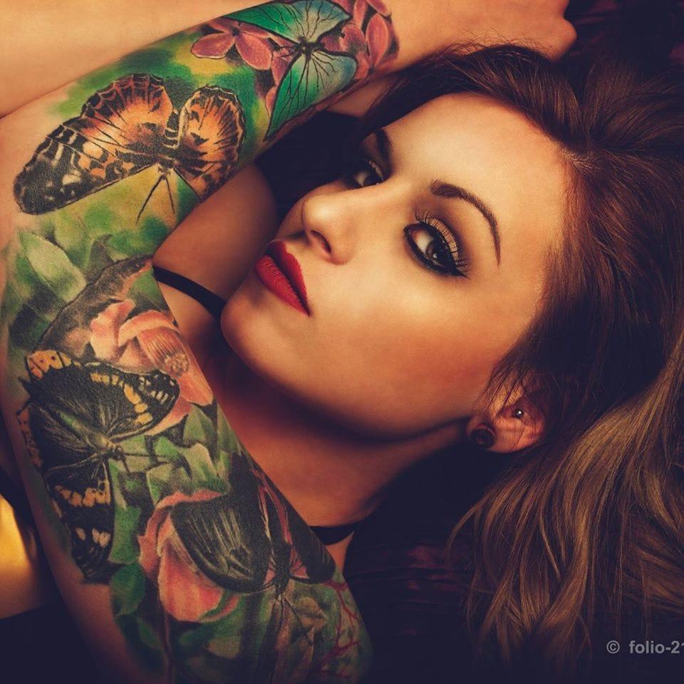 Lindíssimas tatuagens dessa K Jey!