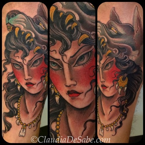Solid Tattoo by Claudia De Sabe