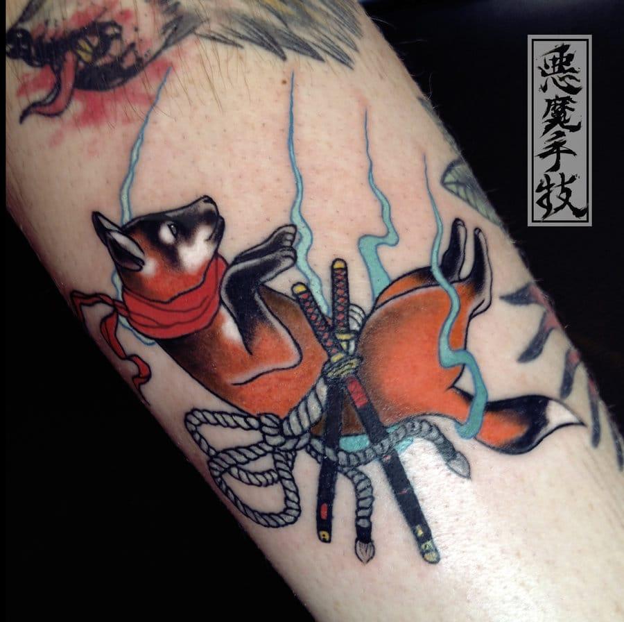 Samurai Animal Tattoo