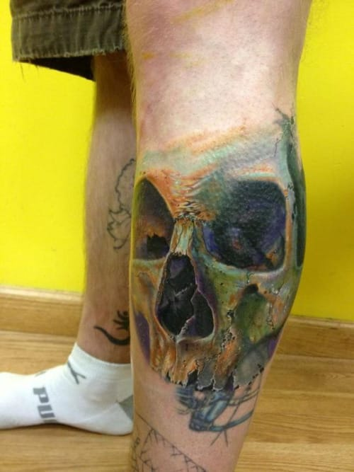 cover-up done on Frank La Natra by Phil Garcia